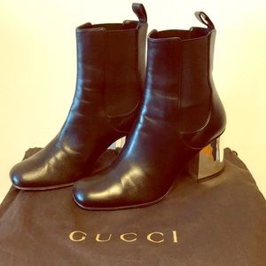Authentic Gucci Leather Bootie